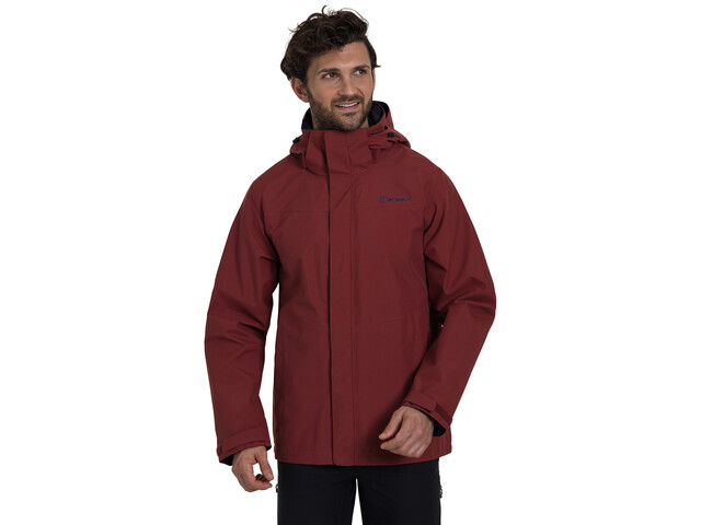 Berghaus Hillwalker InterActive Shell Jas Heren, russet brown